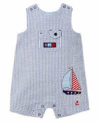 Little Me Baby Boys Sailboat Sunsuit - sold out