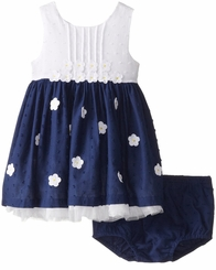 Little Me Baby Girls Daisy Woven Dress