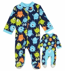 Little Me Baby Boys Monster Blanket Sleeper