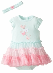Little Me Baby Girls Ombre Tutu Dress and Headband - sold out