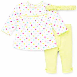 Little Me Baby Girls Polka Dot Tunic Set SOLD OUT
