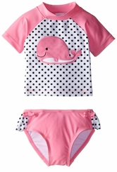 Little Me Baby Girls Whale Rash Guard Tankini Swimsuit - SOLD OUT