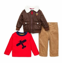 Little Me Boys Infant Aviator Jacket and Pant Set - Out of Stock