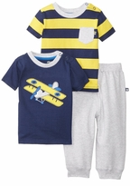 Little Me Little Boys Airplane 3 Piece Daycare Sets