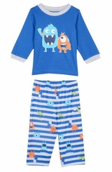 Little Me Little Boys Monster Pajama Set