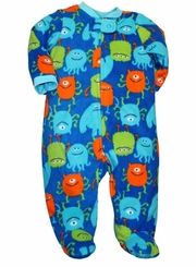 Little Me Monster Baby - Boys Blanket  Sleeper