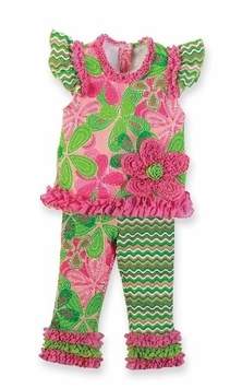 Little Sprout Play Set with Ruffle Leggings - SOLD OUT