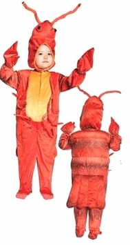 Lobster Print Costume