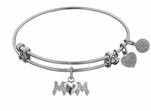 Mom Bracelet Antique Silver Mother's Day Gift or Mom Gift