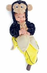 Monkey in a Banana Baby Bunting Costume - sold out