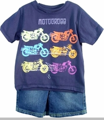 Motocross Short Set - 12 Month