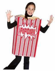 Movie Night Popcorn Costume - 7- 10  - solds out