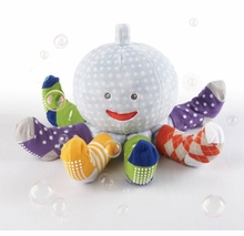 Mr. Sock T. Pus Toy with 4 Pairs of Socks - 2 Gifts in one!