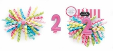 Mud Pie Girl's I'm 2 Birthday 3-In-1 Bow - sold out