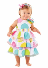 Mud Pie- Girl's Dot Birthday Girl Dress - SOLD OUT