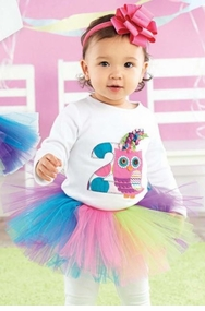 Mud Pie 2nd Birthday Owl Skirt Set - SOLD OUT