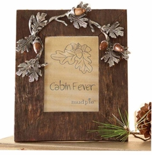 Mud Pie Acorn Mango wood frame sold out