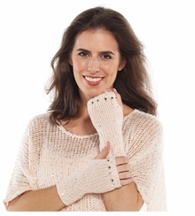 Sequin Womens Fingerless Gloves : Women's Sequin Handwarmers Choose Color