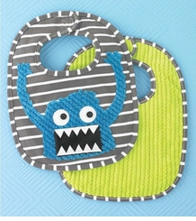 Mud Pie Baby Boy Monster Bib - SOLD OUT