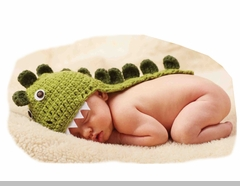 Mud Pie Baby Boys Dino Hat