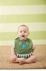 Mud Pie Baby Boys Dino Pocket Bib
