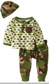 Mud Pie Baby Boys Dino Take-Me-Home Set - Pant Set