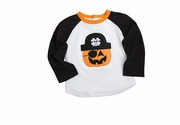 Mud Pie Baby-Boys Felt Pirate Pumpkin Shirt - SOLD OUT