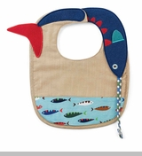 Mud Pie Baby Boys Fish Bib
