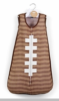 Mud Pie Baby Boys Football Swaddle Sack