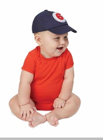 Mud Pie Baby Boys Milestone Baseball Hat