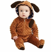 Mud Pie Baby-Boys Newborn Puppy One Piece