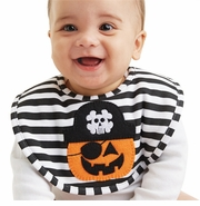 Mud Pie Baby Boys Pirate Pumpkin Bib