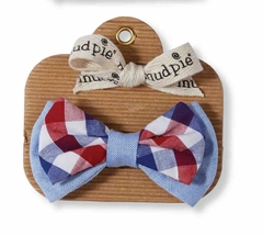 Mud Pie Baby Boys Plaid  Bow Tie - SOLD OUT