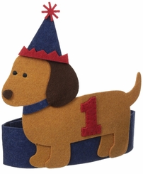 Mud Pie Baby Boys Puppy Birthday Hat