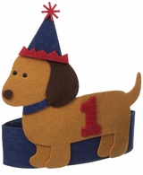 Mud Pie Baby Boys Puppy Birthday Hat - SOLD OUT