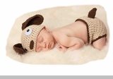 Mud Pie Baby Boys Puppy Hat & Bloomer