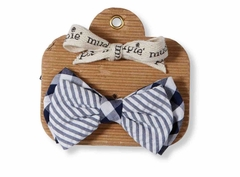 Mud Pie Baby Boys Seersucker Bow Tie - SOLD OUT