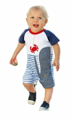 Mud Pie Baby Boys Whale Shortall