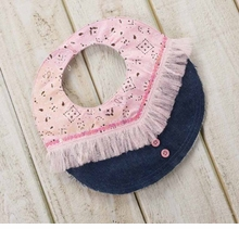 Mud Pie Baby Cowgirl Bib - Out of Stock