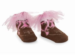 Mud Pie Baby Girl's -Cowgirl Socks by Mud Pie - SOLD OUT