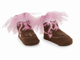 Mud Pie Baby Girl's -Cowgirl Socks by Mud Pie