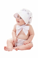 Mud Pie Baby Girls Baby Bonnet - SOLD OUT