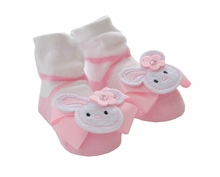 Mud Pie Baby-Girls Bunny Socks - sold out