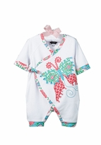 Mud Pie Baby Girls Butterfly One Piece