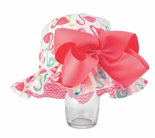 Mud Pie Baby Girls Flamingo Sun Hat 6-18 months - sold out