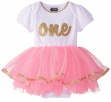 Mud Pie Baby-girls I'm One Tutu Crawler Size 9-12 Months - SOLD OUT