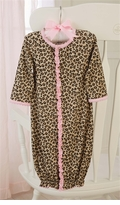 Mud Pie Baby Girls Leopard Gown
