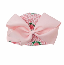 Mud Pie Baby Girls Rose Newborn Hat
