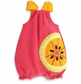 Mud Pie Baby-Girls Tutti Frutti Romper