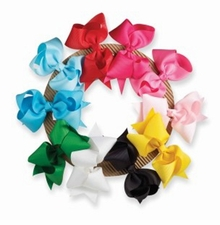 Mud Pie Baby-Infant Girl's Hair Bow Wreath - Out of Stock